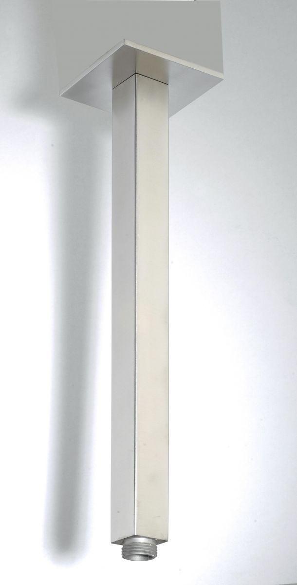 rvs vierkante plafond uitloop